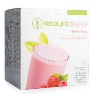 NeoLifeShake Berries n' Cream, Meal Replacement Protein Shake