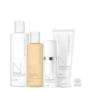 Nutriance Organic Set Man, Normal to Dry skin